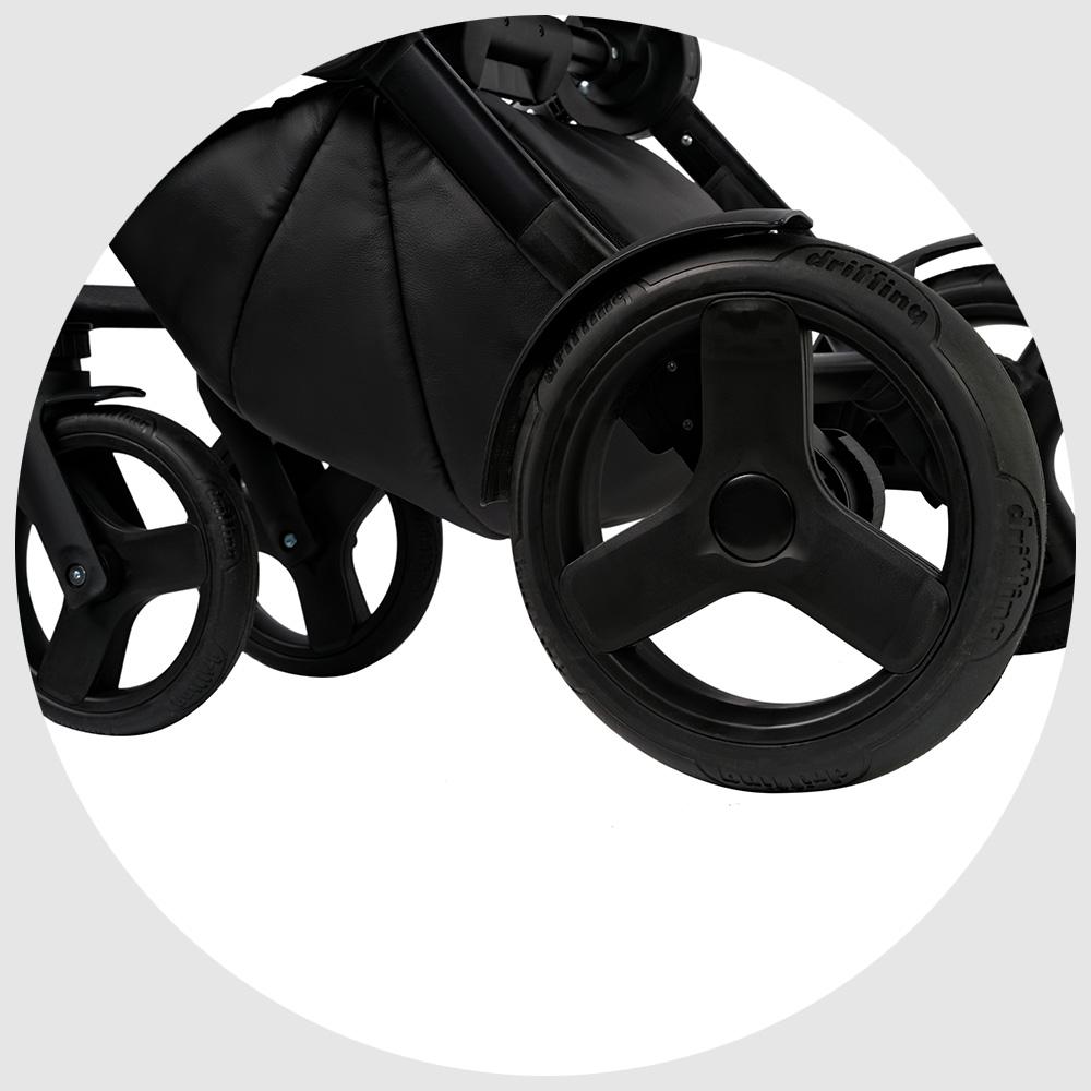 Мягкие гелевые колеса не требуют подкачки